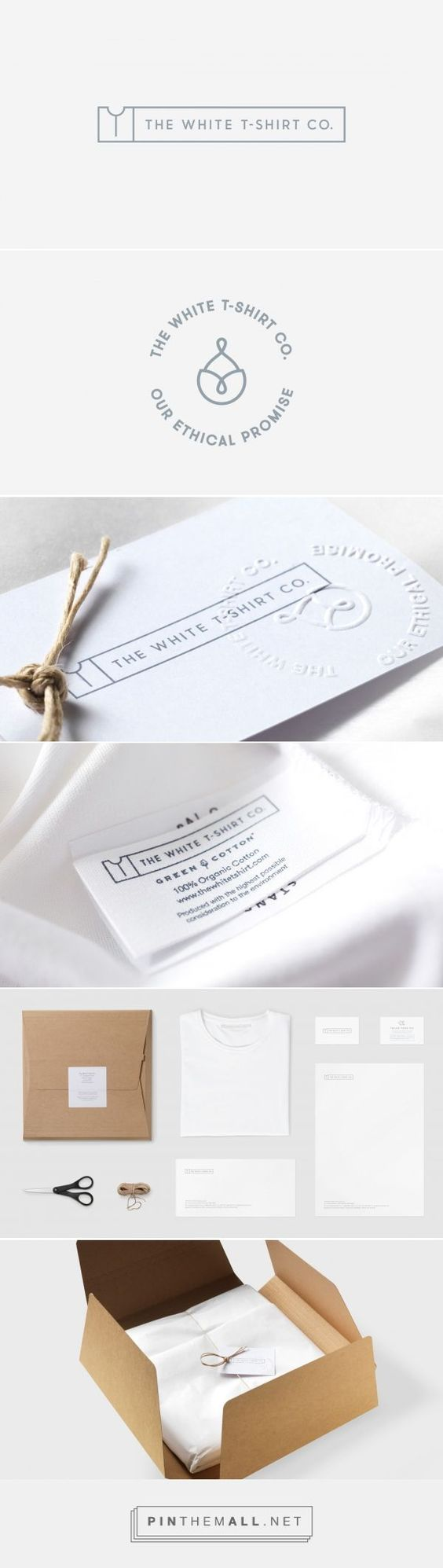 All white branding done perfectly