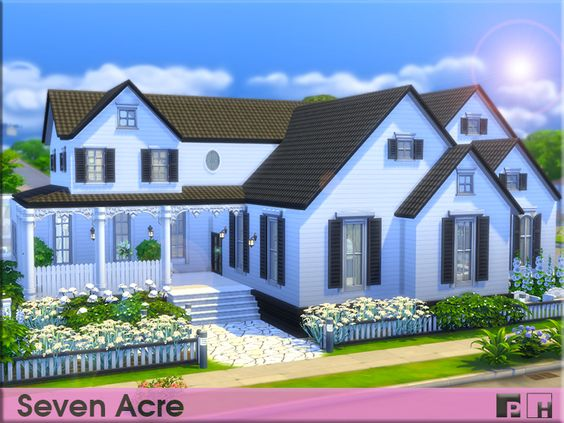 Beautiful Family Home Spacious And Awaiting Your Sim Family Needs 4 Bedroom 3 Bedroom House Is Great To Wat Sims House Design Sims House Sims 4 House Design
