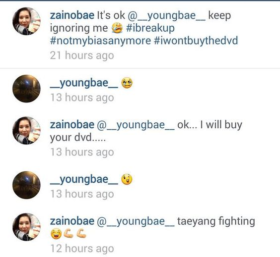 This is so cute xD Taeyang replies Ep1pt2