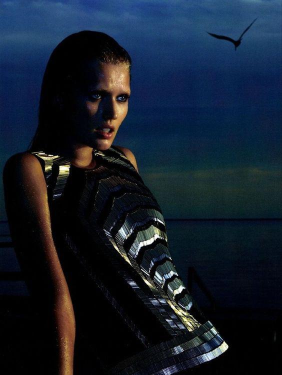 Toni Garrn by Camilla Akrans