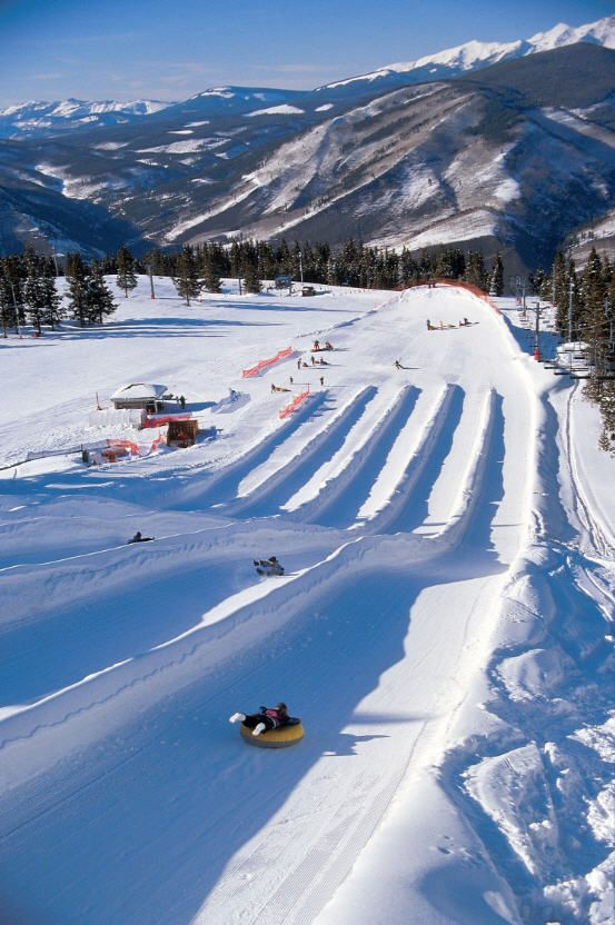 Snow tubing in Vail at Adventure Ridge