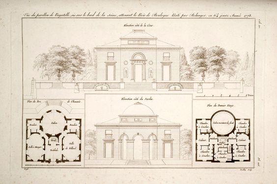 Front Elevation Antique : Bagatelle first second floor haus pinterest
