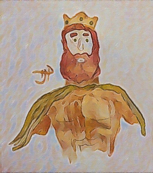 Brian Boru Painting