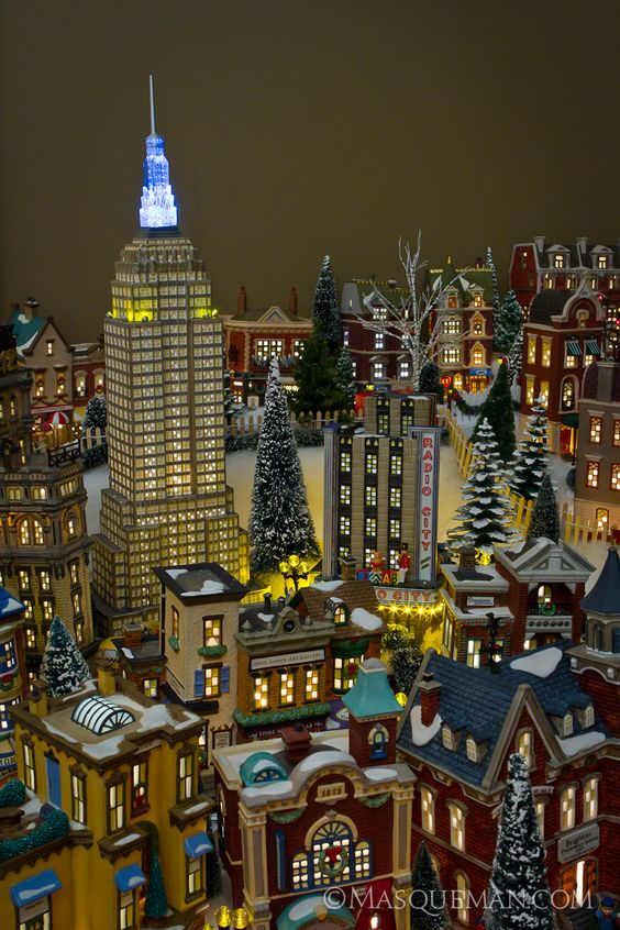 Department 56 Christmas in the City Department 56 Pinterest - christmas town decorations