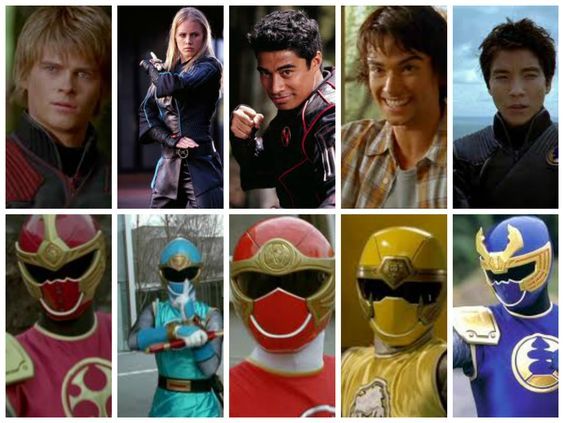 Wind & Thunder Rangers | Power Rangers Collages ...