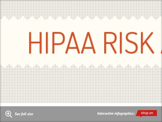 Infographic Hipaa Risk Analysis  HttpWwwTykansCom  Risk