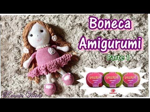 Crochet doll red tutorial pattern part 1 Amigurumi crochet DOLL ... | 360x480