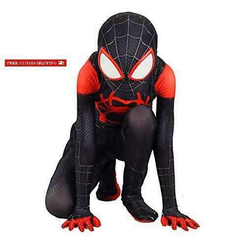 Piers Superhero Cosplay Bodysuit for Boys Girls Halloween Spandex Costume Suit