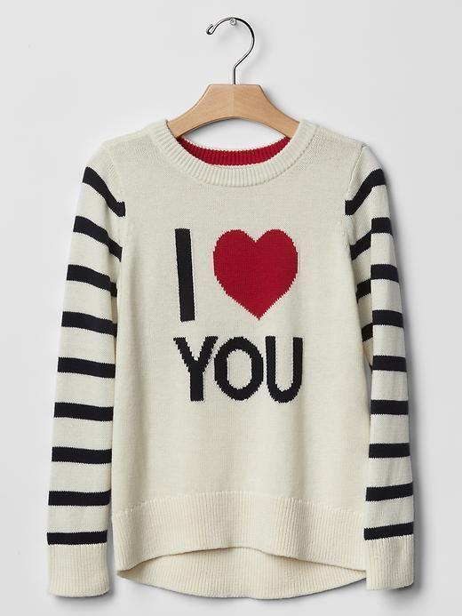 GAP Girl Intarsia Sweater Sparkle Animal Penquin Teal Blue Cotton XS 4-5 143211