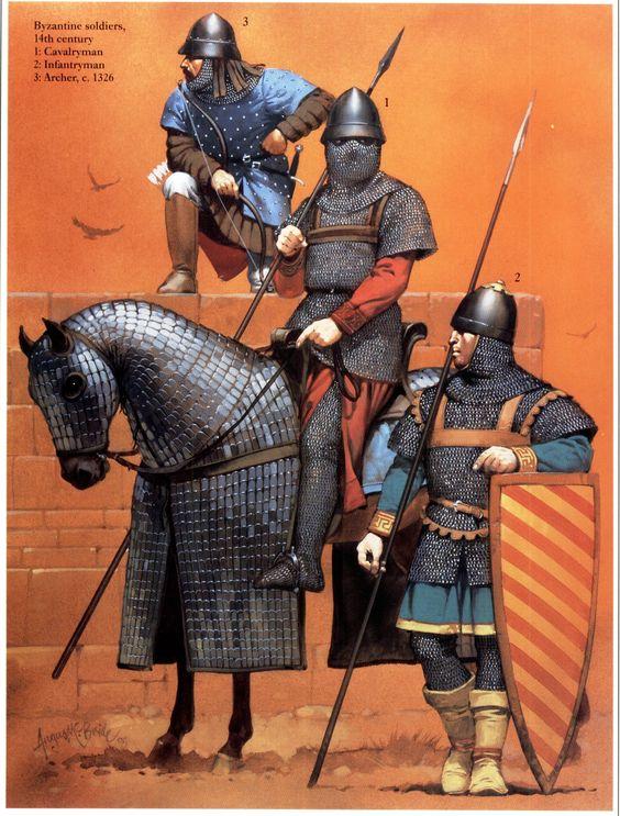 византийская армия 14 век