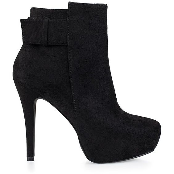 Nly Shoes Low Heel Ankle Boot found on Polyvore | Top Shoes ...