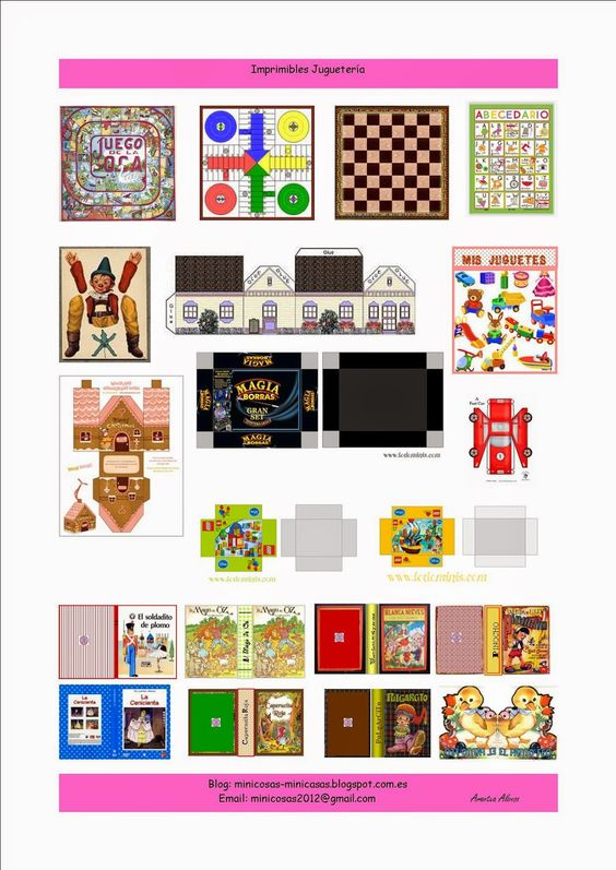 Minicosas minicasas x imprimibles printable miniature for Cocinas puntocom
