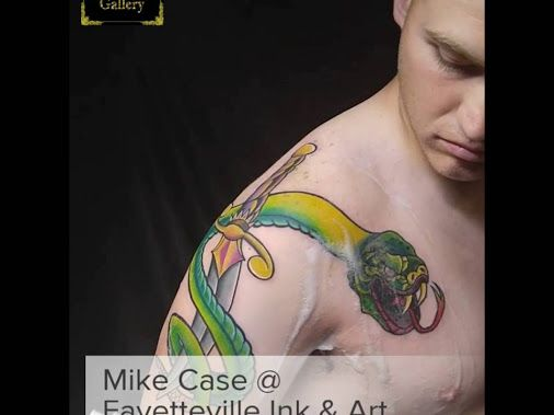Fayetteville Ink & Art Gallery 910-864-4INK Tattoo by Mike Case Cover up Color Bomb All Custom New School 4Hours Tattoo Time Hawk Pen Starbrite Colors Schedule Today!!! Mike Case by APPOINTMENT ONLY! T... https://youtu.be/1PFo-Bhhv0g