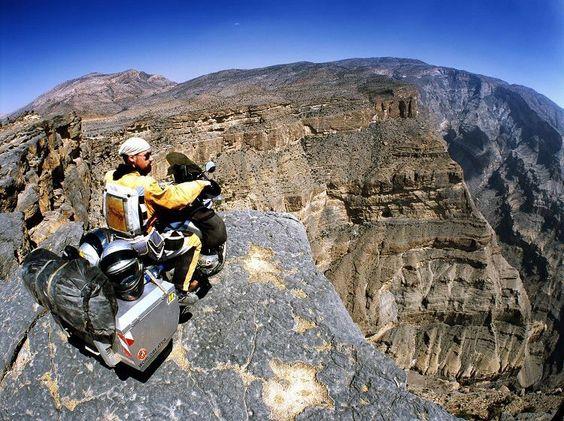 Турист на мотоцикле
