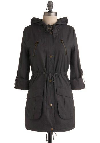 Grey-t Day for Sailing Coat   Mod Retro Vintage Coats   ModCloth.com - StyleSays