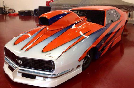 Visit The MACHINE Shop Café... ❤ Best of Racing @ MACHINE ❤ (Wild Chevy Camaro Pro Modified)