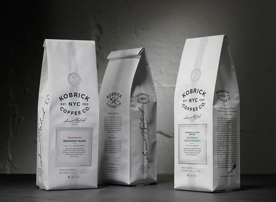 Packaging of the World: Creative Package Design Archive and Gallery: Kobrick Coffee Co.