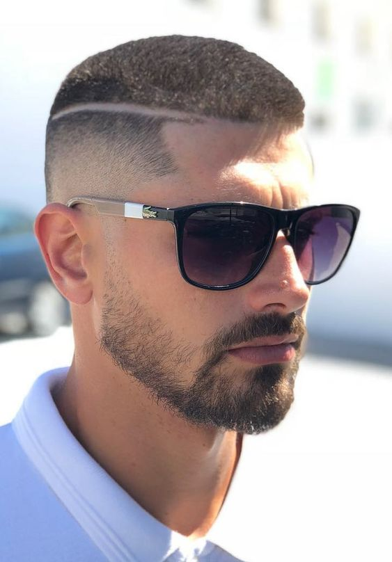 Butch Cut with Hard Line Disconnection Hairstyle