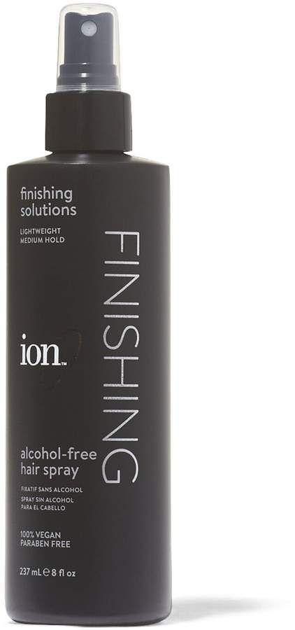 Ion Alcohol Free Hair Spray Hair Sprays In 2020 Paraben Free Products Free Hair Alcohol Free