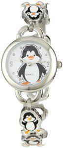 Frenzy Kids' FR218 Penguin Novelty Analog Bracelet Watch by Frenzy - Price: $14.99