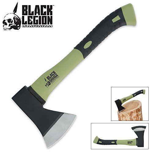 Black Legion Camping Hatchet/Axe Black Legion http://www.amazon.com/dp/B00AFWYGOE/ref=cm_sw_r_pi_dp_tQcqxb08HHPN6