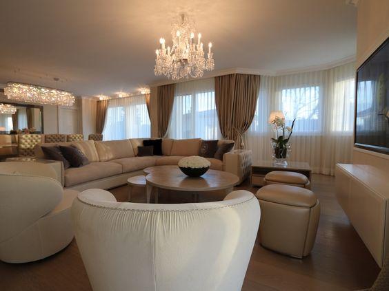 Villa Wohnzimmer : Fendi on