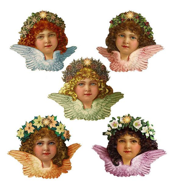 Victorian Angel Quints by SabraKhan, via Flickr More