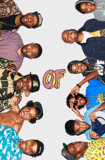 OFWGKTA - Tyler, Earl, Jasper, Frank, Left Brain, Taco, Hodgy, Syd, Domo, Mike G and some dude