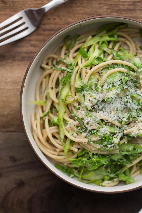 Asparagus, Pasta and Pasta dishes on Pinterest