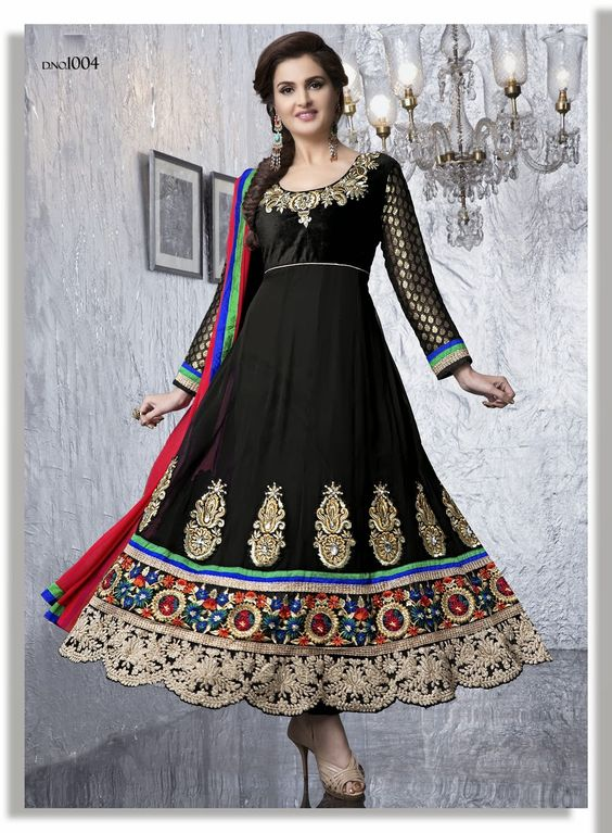 Beautiful Designer Bollywood Style Dress is Ready to Ship For ...