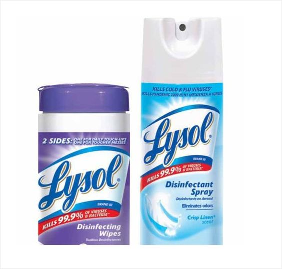 Lysol Disinfectant Spray 12 1 2 Oz Or Wipes 35 Ct Save 1 Instantly With Ace Rewards Card Vali Disinfecting Wipes Disinfectant Spray Ace Hardware Store