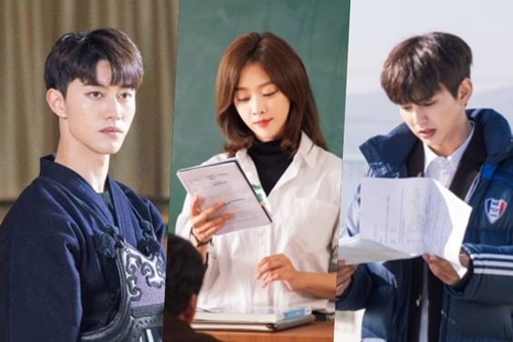 """""""My Strange Hero"""" Cast Can't Let Go Of Their Scripts in New Behind-The-Scenes Photos"""