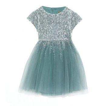 Degas Moon Dress - Silver