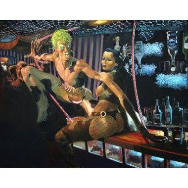 "Nicolas Curmer - ""Le Bar des artistes"", 2005"