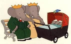Babar and family - so cute