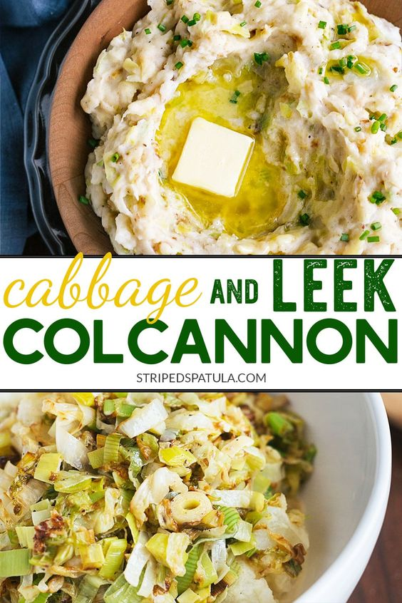 Creamy Leek and Cabbage Colcannon
