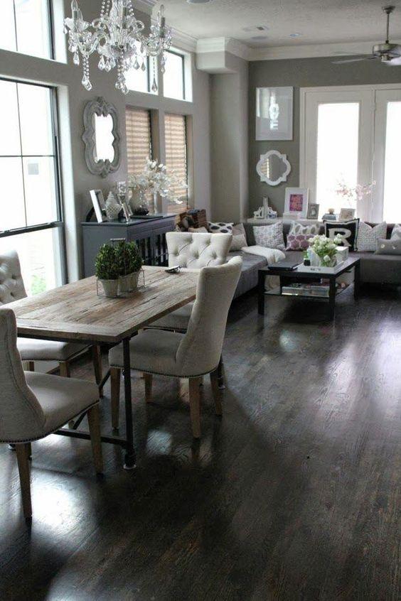 Decoraci n de comedor y sala juntos en espacios peque os for Decoracion sala comedor
