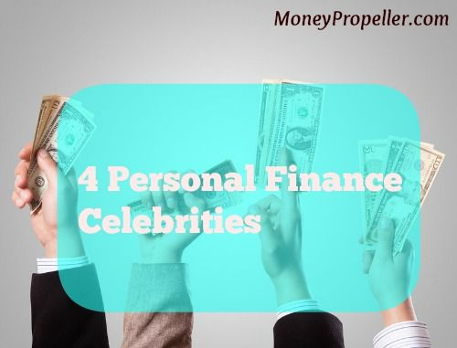 4 Personal Finance Celebrities