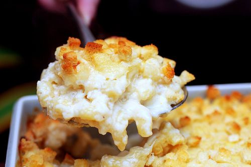 Mac & Cheese from Martha and Smitten Kitchen
