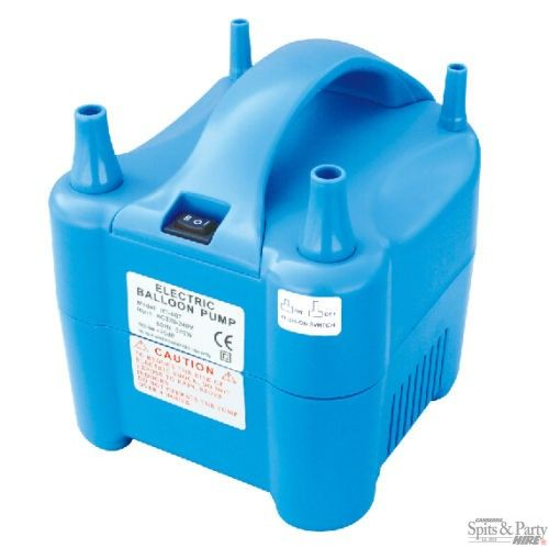 Electric Balloon Pump Hire Grab An Electric Balloon Pump And