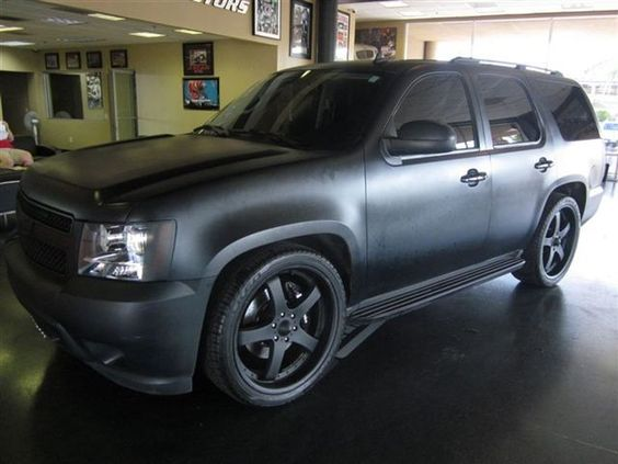 Rob Dyrdeck S Murdered 07 Chevy Tahoe Pretty Mean Automobiles