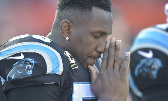 Thomas Davis Released an Emotional Message on Twitter