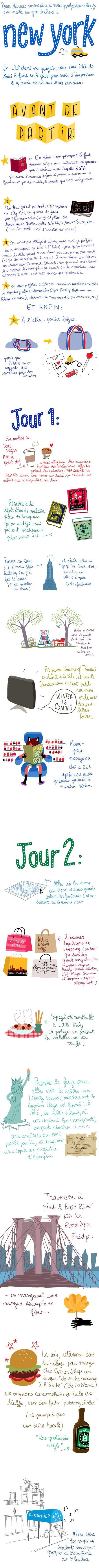 (D) New York par la talentueuse dessinatrice Pénélope Bagieu http://www.penelope-jolicoeur.com #UneSource