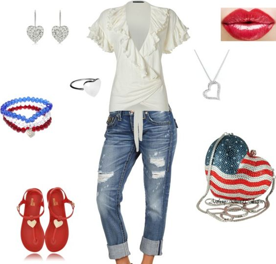 Cute Memorial Day outfit
