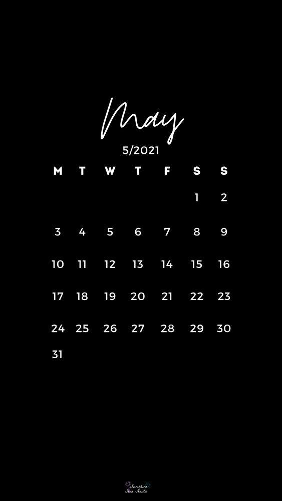May 2021 Wallpaper Hd In 2021 Print Calendar Calendar Wallpaper Calendar Design