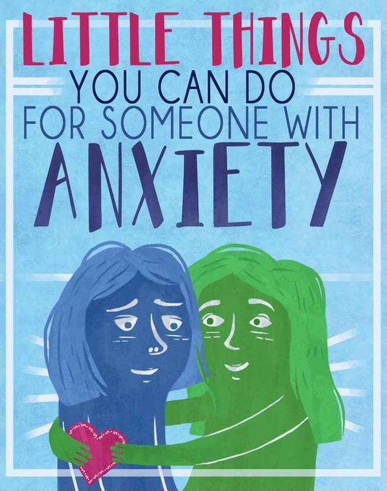 36 People Share How They've Helped Friends Through Their Anxiety