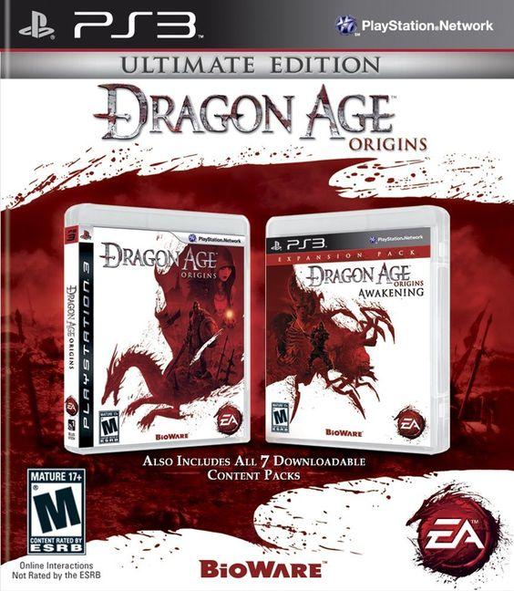 Dragon Age Origins: Ultimate Edition (PlayStation 3)
