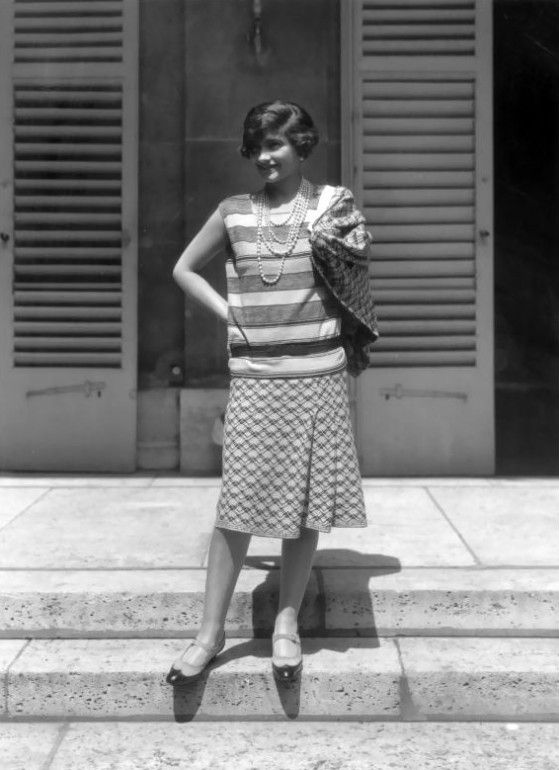 Gabrielle Chanel en 1929  http://www.cameline.org/categorie-12463092.html