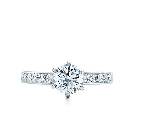 Tiffany & Co. | Engagement Rings | Round Brilliant With Bead-set Band | United States