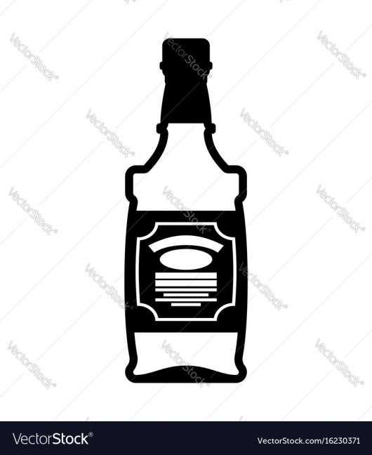 16 Bourbon Bottle Vector Bourbon Whiskey Bottle Labels Whiskey Set